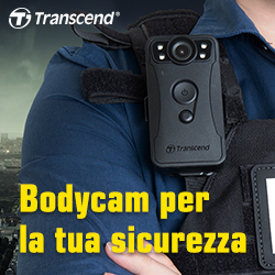 Transcend bodycam security